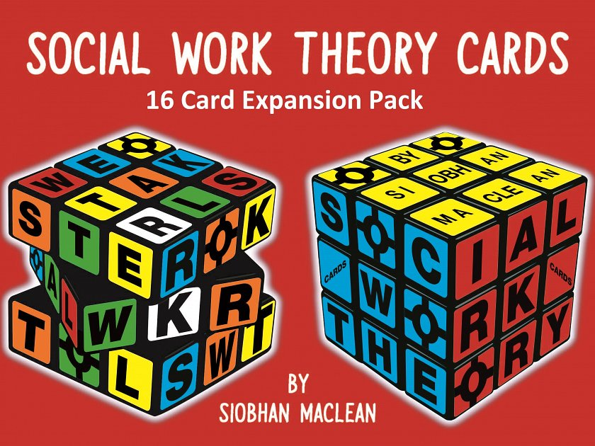 Social Work Theory Cards 3rd Edtion Expansion Pack